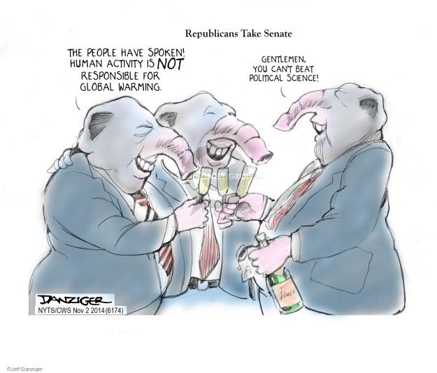 Cartoonist Jeff Danziger  Jeff Danziger's Editorial Cartoons 2014-11-02 2014