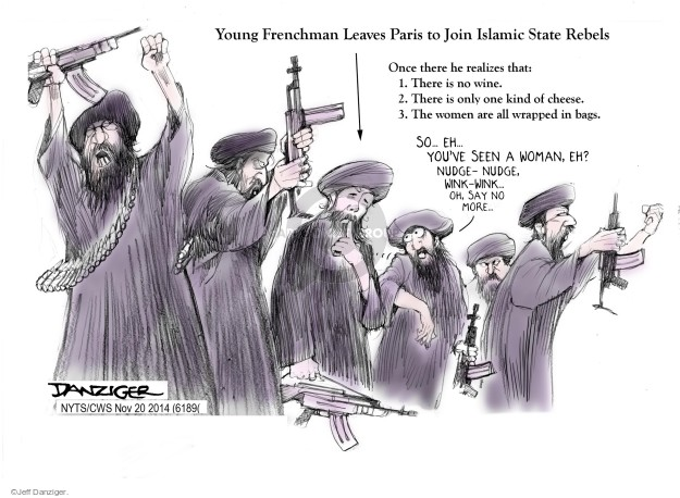 Cartoonist Jeff Danziger  Jeff Danziger's Editorial Cartoons 2014-11-20 wine