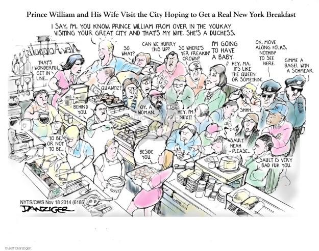 Cartoonist Jeff Danziger  Jeff Danziger's Editorial Cartoons 2014-11-18 baby