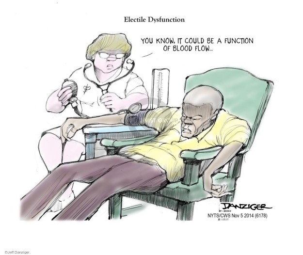 Cartoonist Jeff Danziger  Jeff Danziger's Editorial Cartoons 2014-11-05 2014