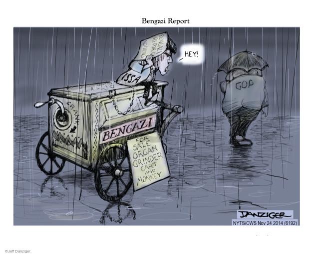 Cartoonist Jeff Danziger  Jeff Danziger's Editorial Cartoons 2014-11-24 committee