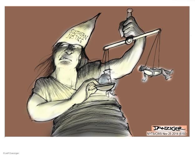 Cartoonist Jeff Danziger  Jeff Danziger's Editorial Cartoons 2014-11-25 ruling