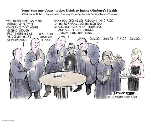 Cartoonist Jeff Danziger  Jeff Danziger's Editorial Cartoons 2014-12-01 Robert