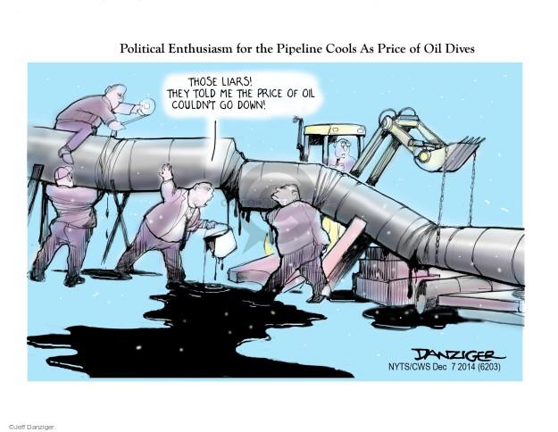 Cartoonist Jeff Danziger  Jeff Danziger's Editorial Cartoons 2014-12-07 construction