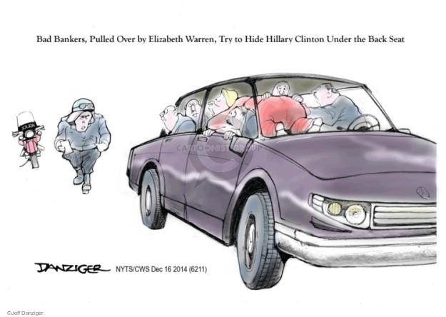 Jeff Danziger  Jeff Danziger's Editorial Cartoons 2014-12-16 interest