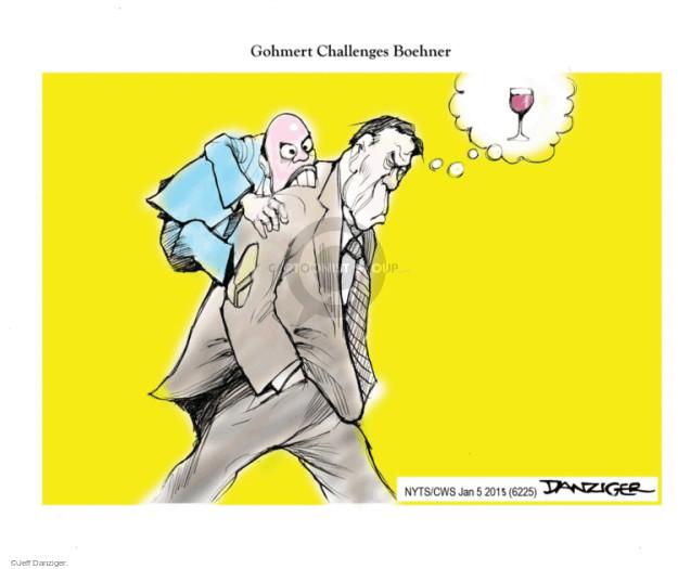 Cartoonist Jeff Danziger  Jeff Danziger's Editorial Cartoons 2015-01-05 drink