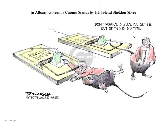 Jeff Danziger  Jeff Danziger's Editorial Cartoons 2015-01-23 political ethics