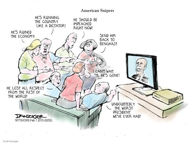 Jeff Danziger  Jeff Danziger's Editorial Cartoons 2015-02-01 'til