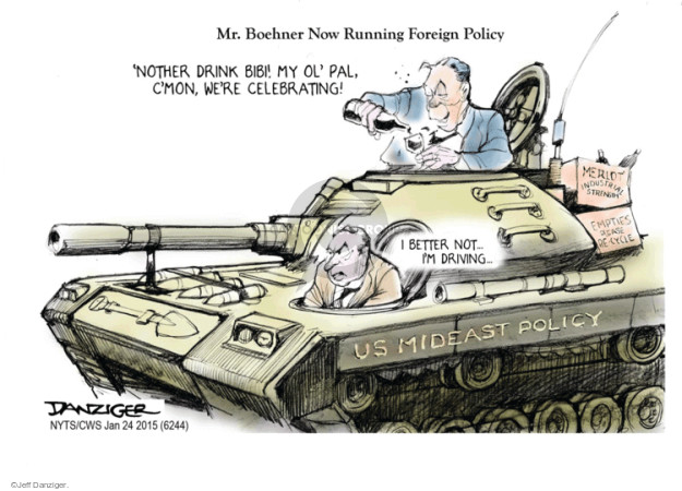Cartoonist Jeff Danziger  Jeff Danziger's Editorial Cartoons 2015-01-26 United States