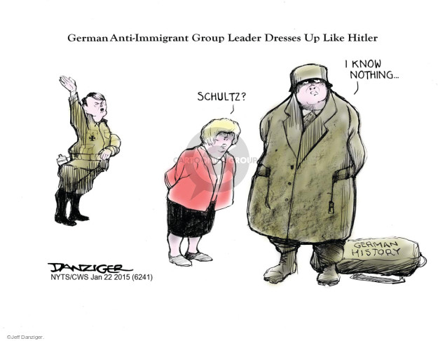 Cartoonist Jeff Danziger  Jeff Danziger's Editorial Cartoons 2015-01-22 World War II