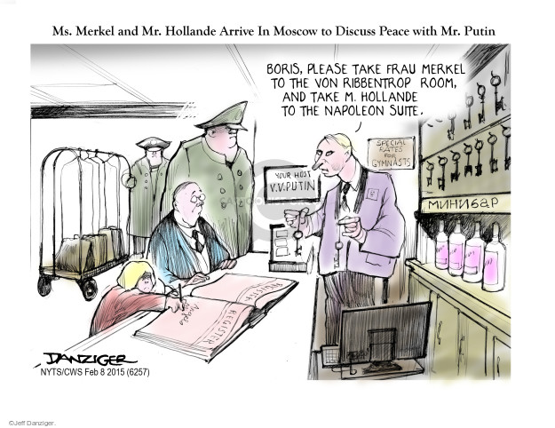 Cartoonist Jeff Danziger  Jeff Danziger's Editorial Cartoons 2015-02-08 World War II