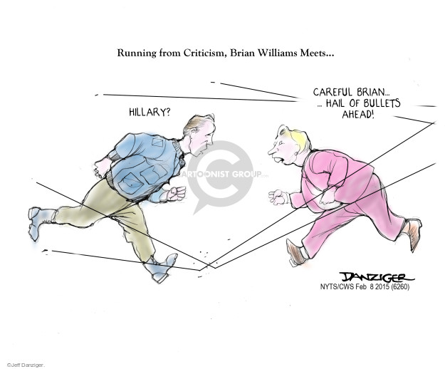 Jeff Danziger  Jeff Danziger's Editorial Cartoons 2015-02-10 media criticism