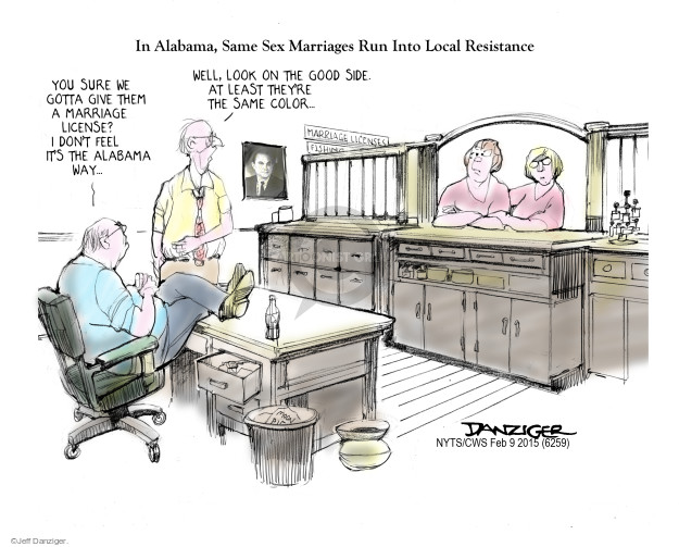 Jeff Danziger  Jeff Danziger's Editorial Cartoons 2015-02-10 feel good