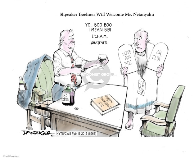 Cartoonist Jeff Danziger  Jeff Danziger's Editorial Cartoons 2015-02-16 wine