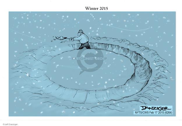 Cartoonist Jeff Danziger  Jeff Danziger's Editorial Cartoons 2015-02-17 storm