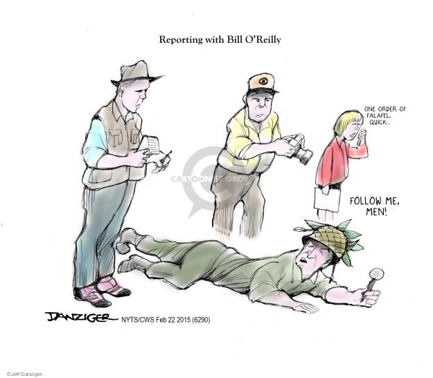 Jeff Danziger  Jeff Danziger's Editorial Cartoons 2015-02-22 Bill O'Reilly