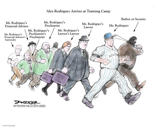 Cartoonist Jeff Danziger  Jeff Danziger's Editorial Cartoons 2015-02-23 sport