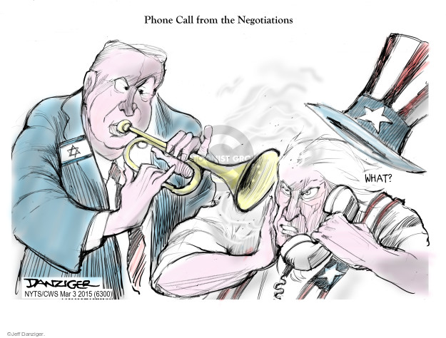 Cartoonist Jeff Danziger  Jeff Danziger's Editorial Cartoons 2015-03-03 international relations