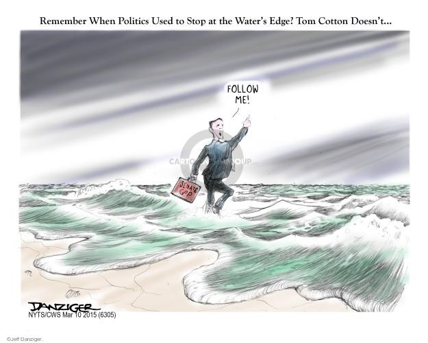 Jeff Danziger  Jeff Danziger's Editorial Cartoons 2015-03-10 cotton