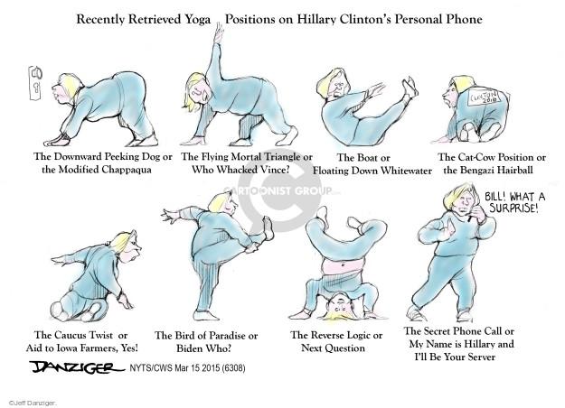 Jeff Danziger  Jeff Danziger's Editorial Cartoons 2015-03-14 record