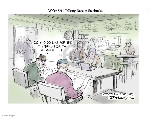Jeff Danziger  Jeff Danziger's Editorial Cartoons 2015-03-24 gamble