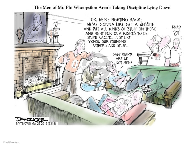 Jeff Danziger  Jeff Danziger's Editorial Cartoons 2015-03-26 racism