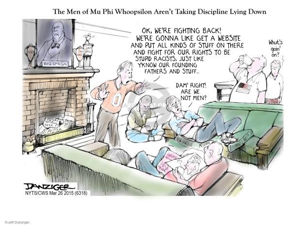 Cartoonist Jeff Danziger  Jeff Danziger's Editorial Cartoons 2015-03-26 university