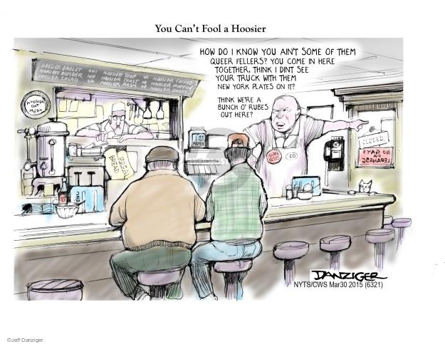 Cartoonist Jeff Danziger  Jeff Danziger's Editorial Cartoons 2015-03-30 equality