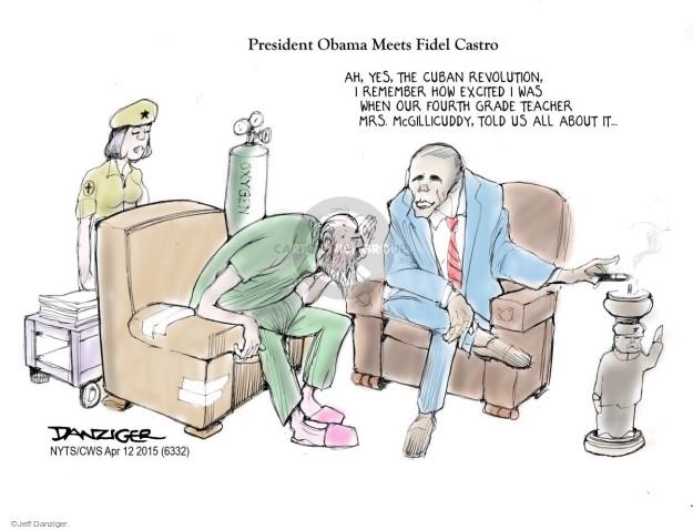 Jeff Danziger  Jeff Danziger's Editorial Cartoons 2015-04-12 age