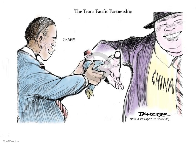 Cartoonist Jeff Danziger  Jeff Danziger's Editorial Cartoons 2015-04-20 global economy