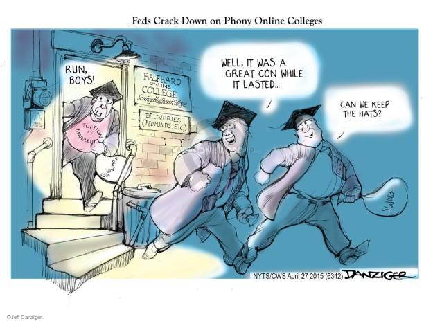 Cartoonist Jeff Danziger  Jeff Danziger's Editorial Cartoons 2015-04-27 university