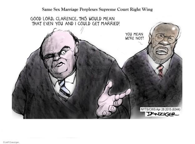 Cartoonist Jeff Danziger  Jeff Danziger's Editorial Cartoons 2015-04-28 right-wing