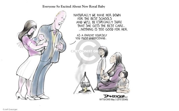 Cartoonist Jeff Danziger  Jeff Danziger's Editorial Cartoons 2015-05-03 best