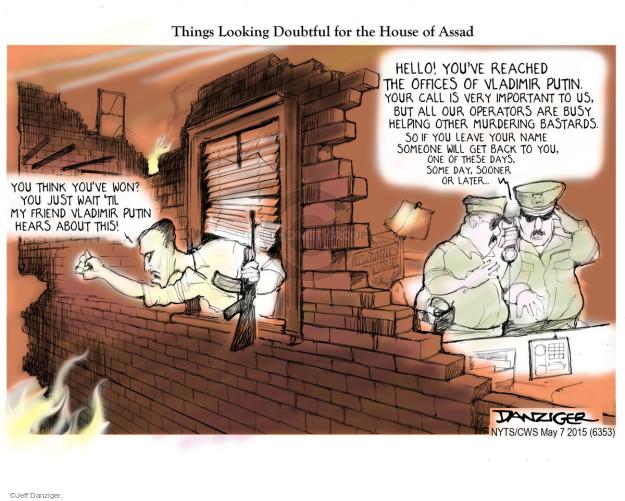 Jeff Danziger  Jeff Danziger's Editorial Cartoons 2015-05-07 'til