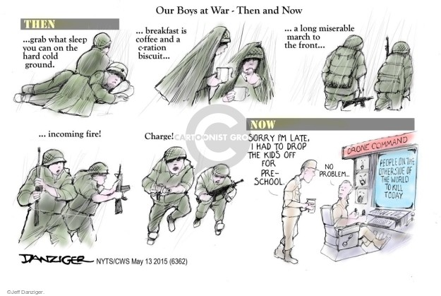 Cartoonist Jeff Danziger  Jeff Danziger's Editorial Cartoons 2015-05-13 no problem