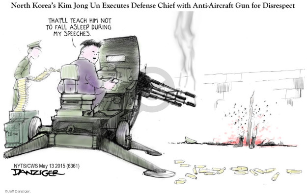 Jeff Danziger  Jeff Danziger's Editorial Cartoons 2015-05-13 defense