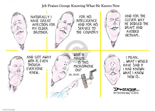 Jeff Danziger  Jeff Danziger's Editorial Cartoons 2015-05-13 middle