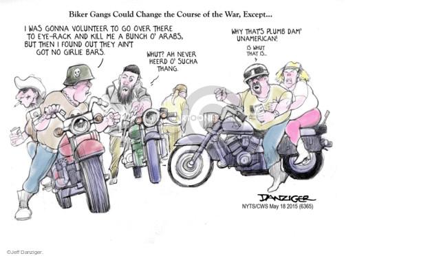 Cartoonist Jeff Danziger  Jeff Danziger's Editorial Cartoons 2015-05-18 eye