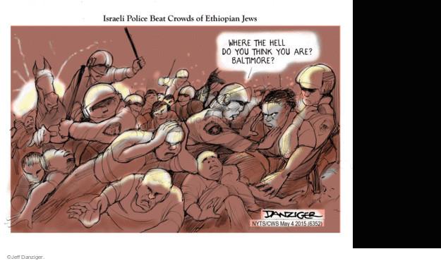 Cartoonist Jeff Danziger  Jeff Danziger's Editorial Cartoons 2015-05-04 beat