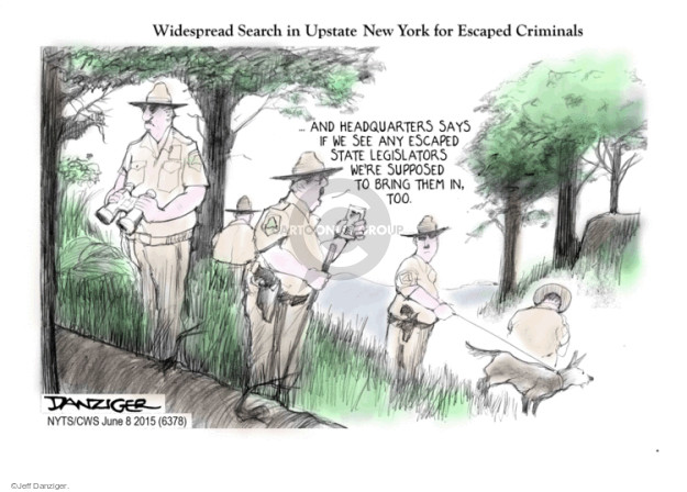 Cartoonist Jeff Danziger  Jeff Danziger's Editorial Cartoons 2015-06-08 police
