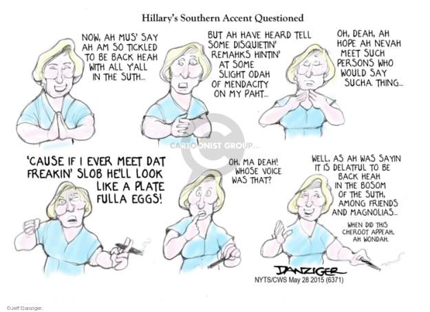 Cartoonist Jeff Danziger  Jeff Danziger's Editorial Cartoons 2015-05-28 southern