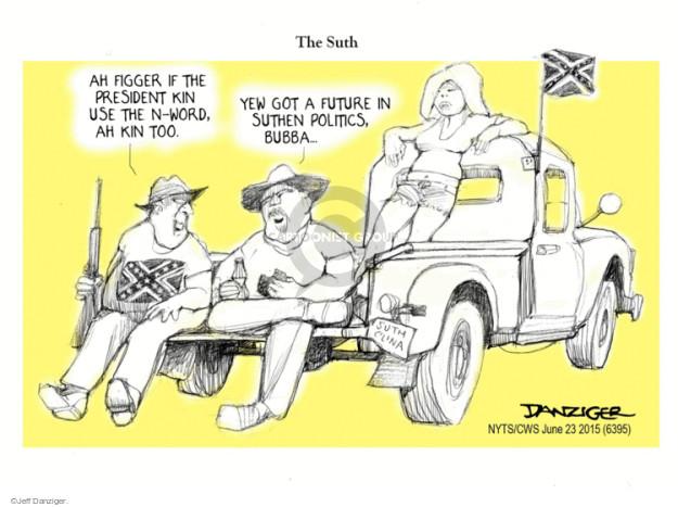 Jeff Danziger  Jeff Danziger's Editorial Cartoons 2015-06-24 racism