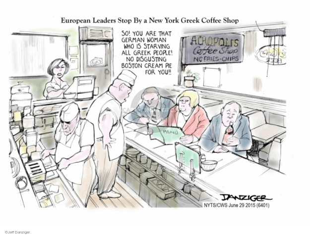Jeff Danziger  Jeff Danziger's Editorial Cartoons 2015-06-29 shop