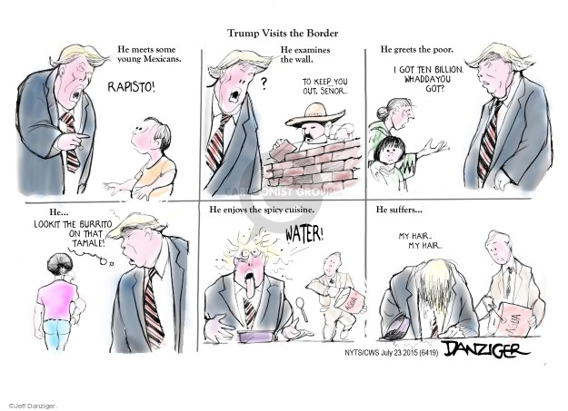 Cartoonist Jeff Danziger  Jeff Danziger's Editorial Cartoons 2015-07-23 United States