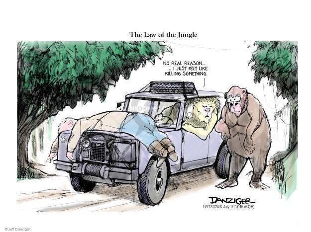 Jeff Danziger  Jeff Danziger's Editorial Cartoons 2015-07-29 just