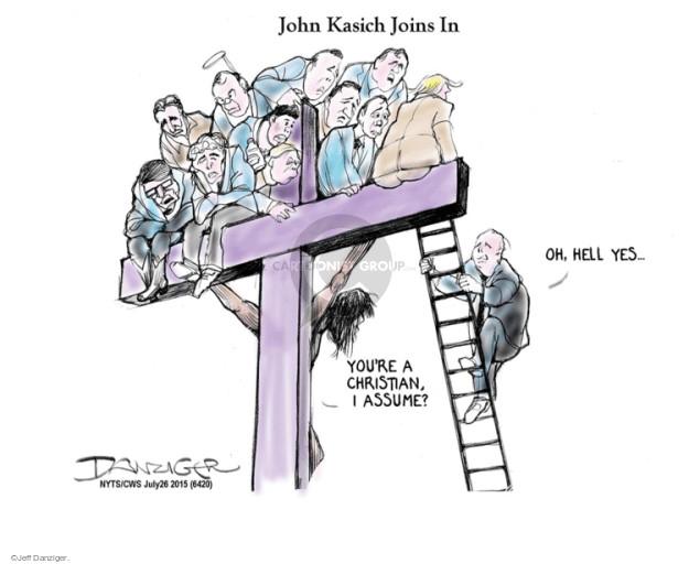 Cartoonist Jeff Danziger  Jeff Danziger's Editorial Cartoons 2015-07-26 join