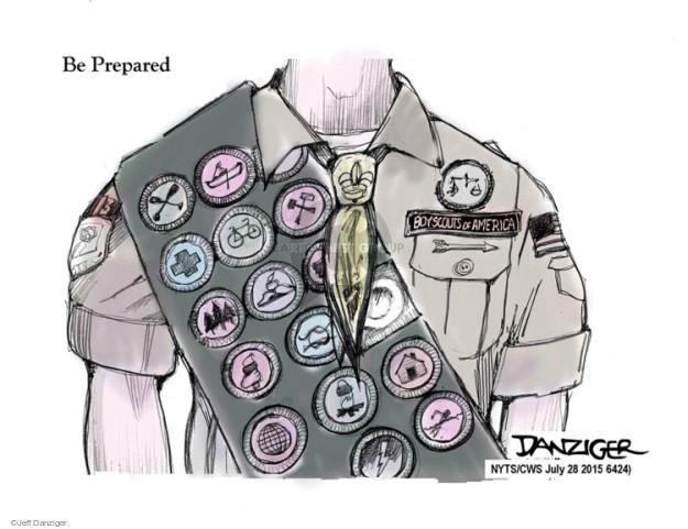 Cartoonist Jeff Danziger  Jeff Danziger's Editorial Cartoons 2015-07-28 leadership