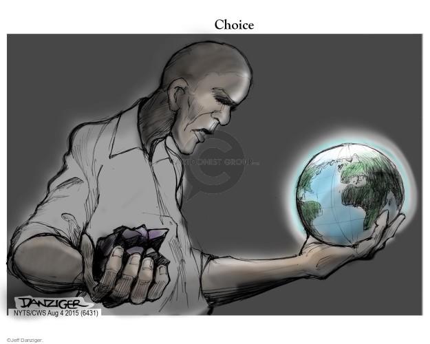 Jeff Danziger  Jeff Danziger's Editorial Cartoons 2015-08-04 globe