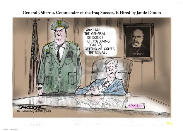Cartoonist Jeff Danziger  Jeff Danziger's Editorial Cartoons 2015-08-23 general