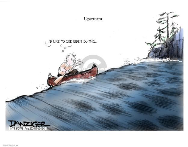 Cartoonist Jeff Danziger  Jeff Danziger's Editorial Cartoons 2015-08-26 Joe Biden